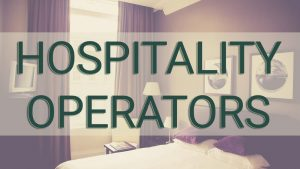 Hospitality Operators
